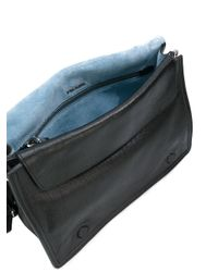 Prada - Black Small Etiquette Shoulder Bag - Lyst