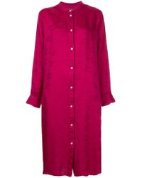 Hysteric Glamour - Pink Jacquard Shirt Dress - Lyst