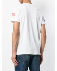 Alpha Industries - White Flag Patch T-shirt for Men - Lyst