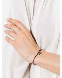 Marc Jacobs - Black Star Embroidered Braclet - Lyst