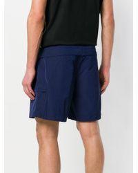 Prada - Blue Classic Bermuda Shorts for Men - Lyst