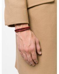 Tod's - Black Classic Woven Bracelet for Men - Lyst