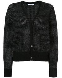 Astraet | Black V-neck Cardigan | Lyst