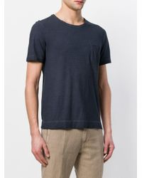 Massimo Alba - Blue Patch Pocket T-shirt for Men - Lyst