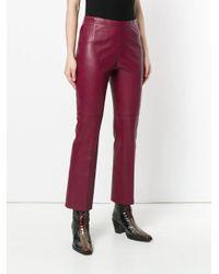 Dorothee Schumacher - Red Cropped Trousers - Lyst