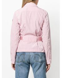Peuterey - Pink Belted Utilitary Jacket - Lyst