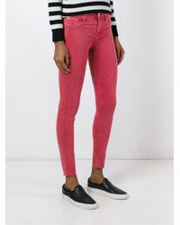 Hudson - Black Super Skinny Jeans - Lyst