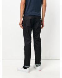 Armani Jeans - Blue Regular Roll Up Jeans for Men - Lyst