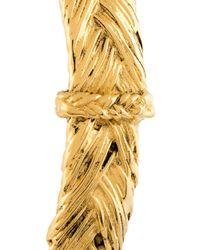 Aurelie Bidermann - Metallic 'icare' Open Bracelet - Lyst