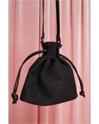 Jaggar - Black Draw Bag Fabric - Lyst