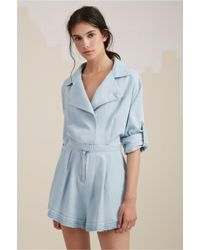 99c03f614c4 Lyst - The Fifth Label The Motel Playsuit in Blue