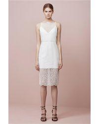 Keepsake | White Daydream Lace Dress | Lyst