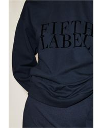 The Fifth Label - Blue Impressionist Jumper - Lyst