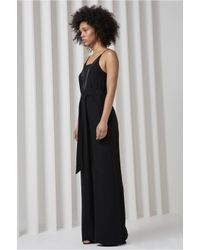 C/meo Collective - Black Vivid Jumpsuit - Lyst
