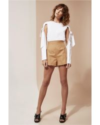 C/meo Collective | Brown Blind Truth Short | Lyst