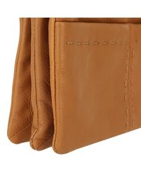 Liebeskind Berlin - Brown Heavy Stitch Crossbody Bag Cognac - Lyst
