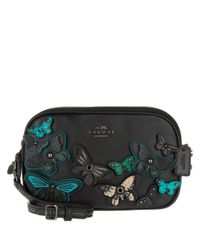 COACH | Butterfly Applique Crossbody Bag Black | Lyst