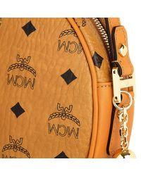 MCM | Brown Heritage Tambourine Crossbody Bag Medium Cognac | Lyst