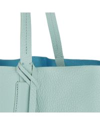 Patrizia Pepe - Green Shopping Bag Pure Water/shiny Azure - Lyst