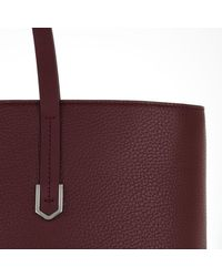 HUGO - Multicolor Nadalia Shopper Bordeaux - Lyst