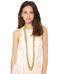 By Malene Birger - Metallic Chiola Necklace - Lyst