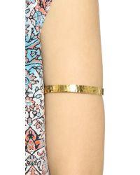 Gorjana | Metallic Textured Arm Cuff | Lyst