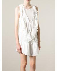 Isabel Marant - White 'Rafael' Dress - Lyst
