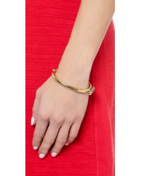 Miansai - Metallic Side Cuff - Gold - Lyst