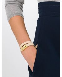 See By Chloé | Natural Double Wrap Bracelet | Lyst