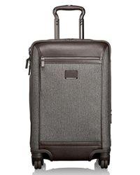 Tumi - Gray 'astor - Osborne' 4-wheeled Carry-on Suitcase for Men - Lyst