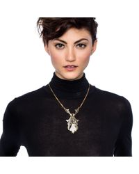 Lulu Frost - Metallic Wisteria Necklace - Lyst
