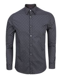 Ted Baker | Blue Wenfarh Ornate Geo Print Shirt for Men | Lyst