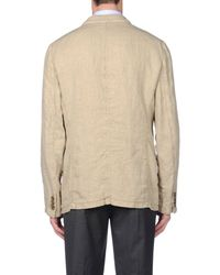 Armani - Natural Blazer for Men - Lyst
