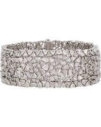 Monique Pean Atelier - White Diamond Bracelet - Lyst