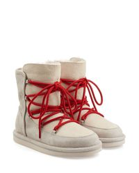 UGG - Natural Lodge Water-Resistant Suede Boots - Lyst