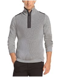 BOSS Green - Gray Sweater 'zem' In Wool Blend for Men - Lyst