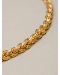 Marie-hélène De Taillac - Metallic Wheat Chain Necklace - Lyst