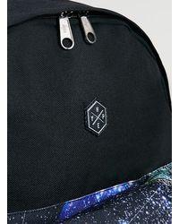 TOPMAN   Black Retro Space Pocket Backpack* for Men   Lyst