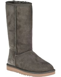 UGG | Green Classic Tall Boot Forest Night Suede | Lyst