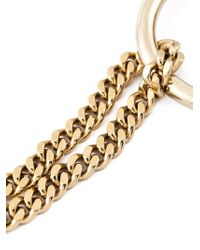 Chloé | Metallic 'carly' Necklace | Lyst
