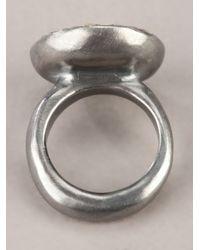 Rosa Maria | Metallic Bette Ring | Lyst