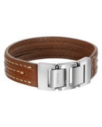 Fossil | Metallic Triple Stack Bracelet for Men | Lyst