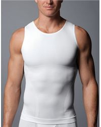 Spanx | White Seamless Tank Top for Men | Lyst