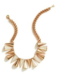 Sarah Magid | Metallic Cone Necklace, Mother Of Pearl | Lyst