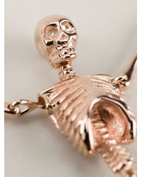 Vivienne Westwood | Metallic Skeleton Necklace | Lyst