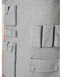 Alexander Wang   Gray Goddess Satin-jersey Dress   Lyst