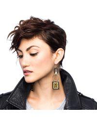 Lulu Frost - Metallic 100 Year Earring #26 - Lyst