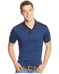 Tommy Hilfiger - Blue Fleetwood Polo for Men - Lyst