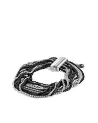 David Yurman - Multicolor Multi-row Box Chain Bracelet - Lyst