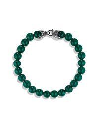 David Yurman   Spiritual Beads Bracelet With Green Onyx for Men   Lyst